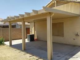 Patio Cover Designs Pictures by Alumawood Solid Patio Cover Installer Mesa