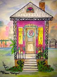 new orleans shotgun house christmas 4