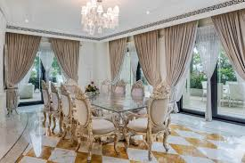 versace dining room table palazzo versace luxury penthouse dubai 10 idesignarch interior