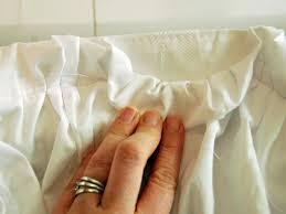 Ombre Ruffle Shower Curtain Create An Easy Custom Ruffled Shower Curtain Hgtv