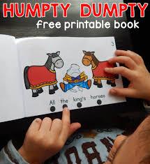 free humpty dumpty booklet humpty dumpty nursery rhyme