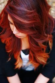 does hair look like ombre when highlights growing out les 15 nuances de roux qui nous inspirent blonde ombre low