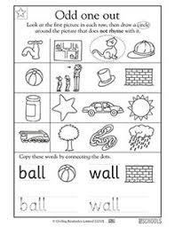 rhyming words fox and socks worksheets u0026 activities