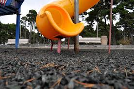 Cheap Outdoor Rubber Flooring by Is Rubber Mulch A Safe Surface For Your Child U0027s Playground Nbc News