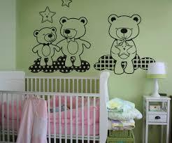vinyl wall decal sticker teddy bears in the sky os dc348