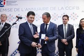 chambre de commerce franco bulgare remise de médaille du sénat à stéphane delahaye cci bulgarie