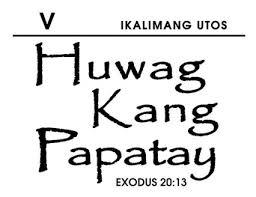 justifies killings realm thought pinoyexchange