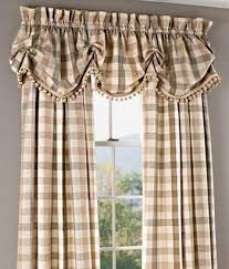 Plaid Kitchen Curtains Valances by 36 Best Curtain Ideas Images On Pinterest Curtain Ideas Window