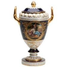 Austrian Vases Antique Austrian Porcelain Antique Vase And Cover By Royal Vienna At 1stdibs