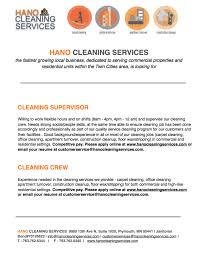 Cleaning Resume Sample Cleaner Resume Resume For Cleaning Examples Samples Free