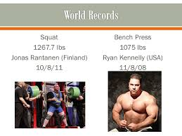 Bench Press World Record Powerlifting Competitions Ppt Download