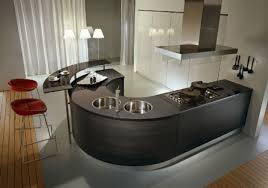 oval kitchen islands curved kitchen islands that will the