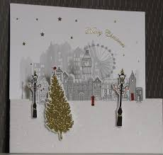 boxed cards set of 10 merry christmas boxed cards finished 3d london
