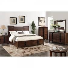 Silver Mirrored Bedroom Furniture by Aspen Bedroom Bed Dresser U0026 Mirror Queen 61560 Bedroom
