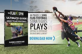 Spin Flag 5on5 Flag Football Playbook U0026 Strategy Guide Flagspin