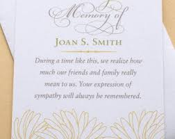thank you for funeral flowers best 25 funeral thank you cards ideas on funeral