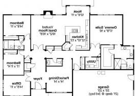 4 bedroom ranch style house plans 4 bedroom 2 5 bath house plans bibserver org