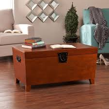 Trunk Like Coffee Table by Amazon Com Southern Enterprises Pyramid Storage Trunk Cocktail
