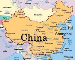 Beijing On World Map by Fudan University Shanghai Pesi