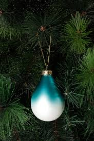 vue holiday opulence frosted glass ombre drop blue myer online