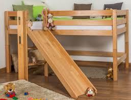 Childrens Bed Frames Midsleeper Highsleeper Children U0027s Bed Samuel Solid Beech Wood