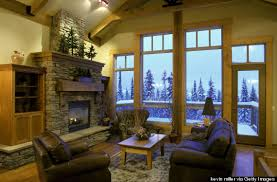 mountain condo decorating ideas how to make your home feel like a luxe ski lodge huffpost