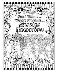 friendship coloring book suzy toronto 9781497201552 amazon com