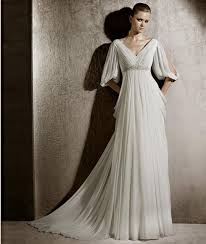 grecian wedding dress simple wedding dress with sleeves naf dresses