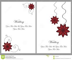 Wedding Invitation Cards Download Free Set Wedding Invitation Cards Royalty Free Stock Images Image
