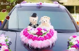 teddy bears for or wedding car decorations stuffed