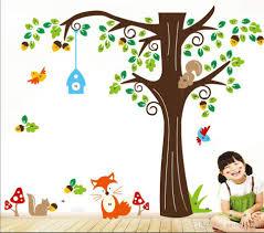 Monkey Nursery Decals Forest Animals Monkeytree Wall Stickers Cute Cartoon Wall Decals