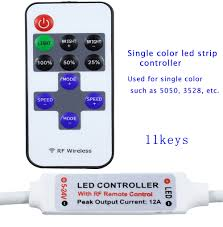 Mini Led Light Strips by Aliexpress Com Buy Rgb Controller Led Mini Wireless Remote
