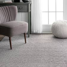 amazon com nuloom 8 u0027 x 10 u0027 hand loomed diamond cotton check rug