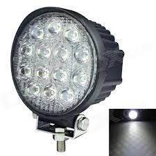 security led lights car 60 degree flood beam 42w 3150lm 6000k 14 led white light car