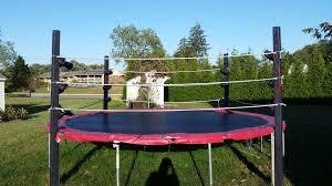 backyard wrestling ring for sale cheap troline wrestling ring 5 steps