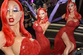 jessica rabbit real life heidi klum pushes the imagination with incredible jessica rabbit