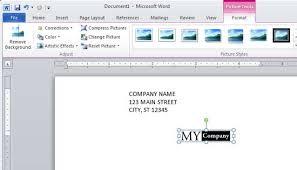 design u0026 print a 10 envelope using microsoft word