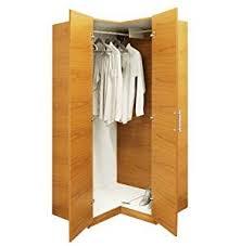 amazon com alta corner wardrobe closet free standing corner