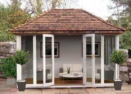 Summer Houses For Garden - top tips choosing roofing materials for your garden building