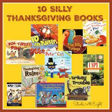 10 silly thanksgiving books startsateight