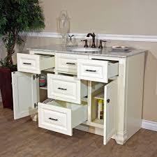 bellaterra home 605022 cream white finish bathroom vanity genuine