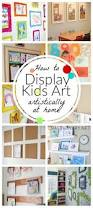 best 25 hanging kids artwork ideas only on pinterest display