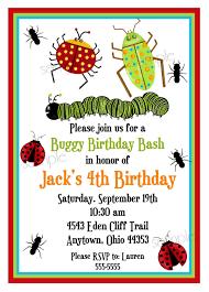 free bug party invitation themed invitations bat u0026 bar mitzvah