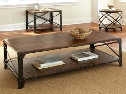 round wood and metal side table wood metal side table retno info