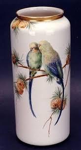 Chinese Hand Painted Porcelain Vases American Belleek Hand Painted Vase 859 Vaas Pinterest