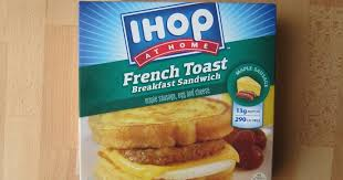 Sonic Breakfast Toaster Calories Frozen Friday Ihop At Home French Toast Breakfast Sandwich