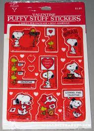 peanuts hallmark valentine u0027s stickers collectpeanuts