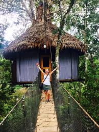 Best Treehouse Would You Stay In A Treehouse In The Middle Of The Amazon Jungle