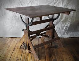 Drafting Table Designs Furniture Antique Adjustable Drafting Table Ideas Antique