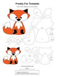 best 25 fox pattern ideas on pinterest felt fox felt patterns